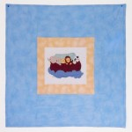 Precious Moment Noah's Ark Applique Quilt