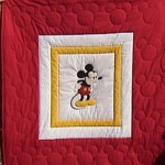 Mickey Mouse Quilt I made for a customer some years ago.