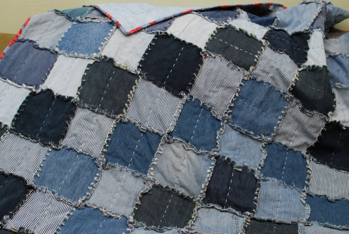 Lovely Jean Rag Quilt