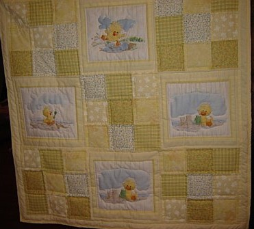 Custom Handmade and Personalized Baby Quilts by