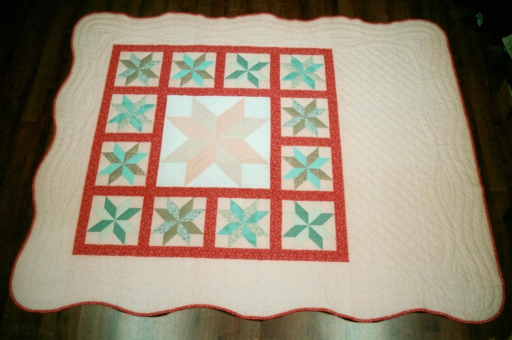 Grandmother's quilt