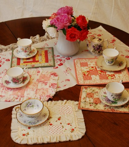Tea party Tea-time mats